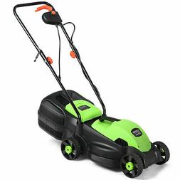 Goplus 12 Amp 14-Inch Electric Push Lawn Corded Mower With G