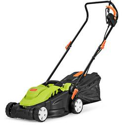 14-Inch 12Amp Lawn Mower Utility Electric Push Lawn Corded M