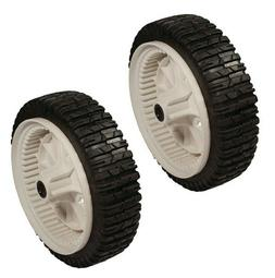 2 Lawn Mower Front Drive Wheels for Craftsman 180773 5321807