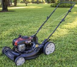 "Murray 21"" 2 In 1 High Wheel Push Lawn Mower With Briggs and"