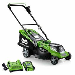 16inch 40V Max Lithium Cordless Lawn Mower with 4.0AH Batter