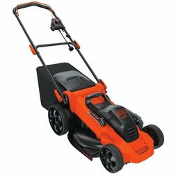 black and decker push corded mower lawn