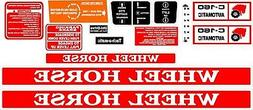 c 160 automatic decal set