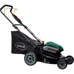 Chargeable Cordless Push Lawn Mower No Oil No Gas No Fumes E