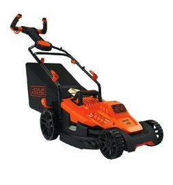 """Corded Electric 10 Amp 15"""" Electric Lawn Mower Walk Behind G"""