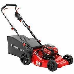 CRAFTSMAN V60 60-volt Max Lithium Ion Push 21-in Cordless El
