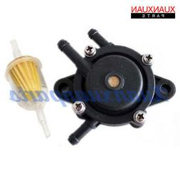 Fuel Pump Fuel Filter For Craftsman Riding Lawn Mower Rep 80