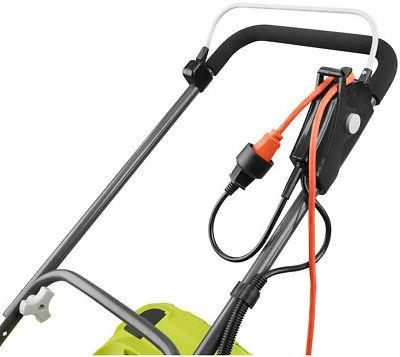 RYOBI 13 In Electric Push Mover Behind Lawn Mower