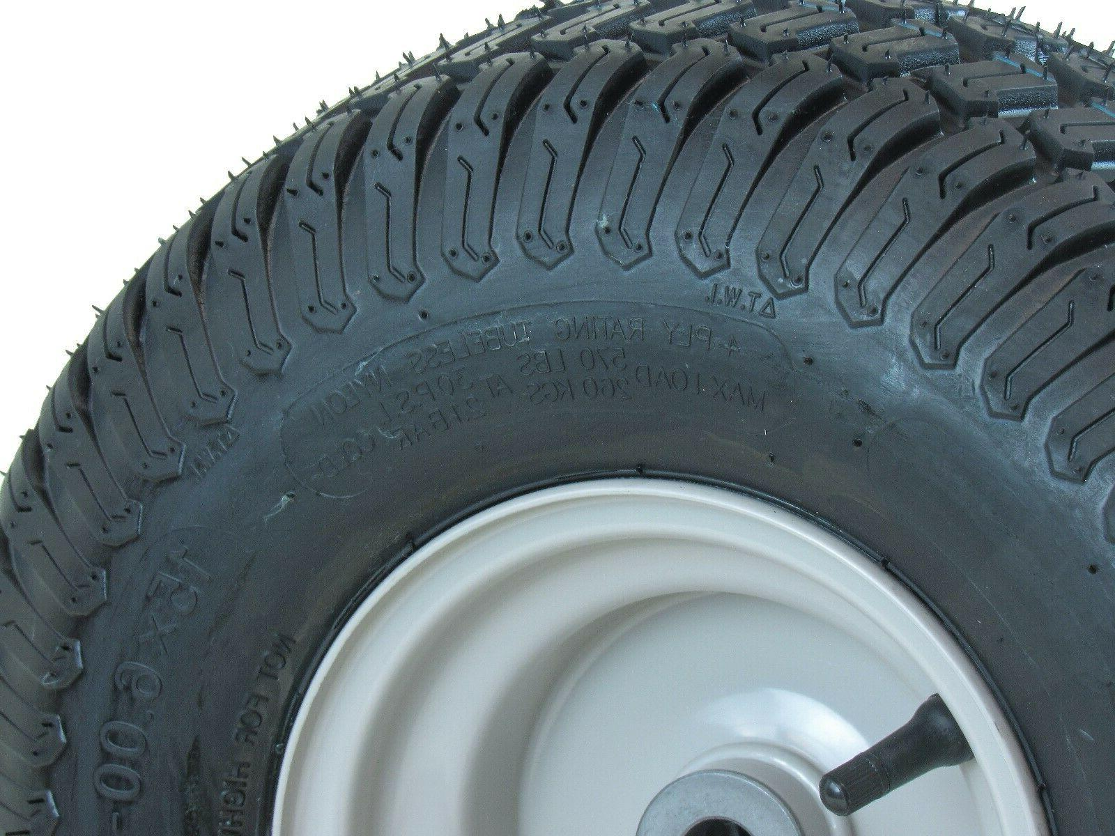 15X6.00-6 on wheel with
