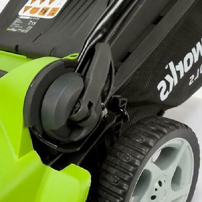 Greenworks 16-Inch Lawn Battery Included