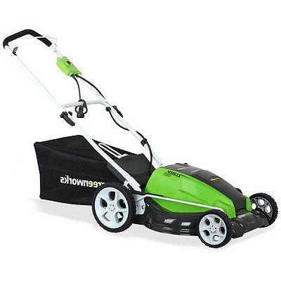 GreenWorks 25112 21-Inch Corded Lawn