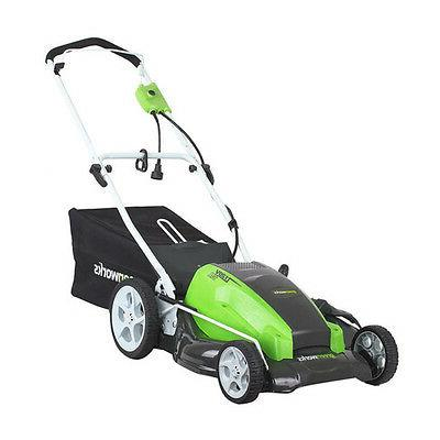 GreenWorks 25112 Amp 21-Inch Corded Lawn