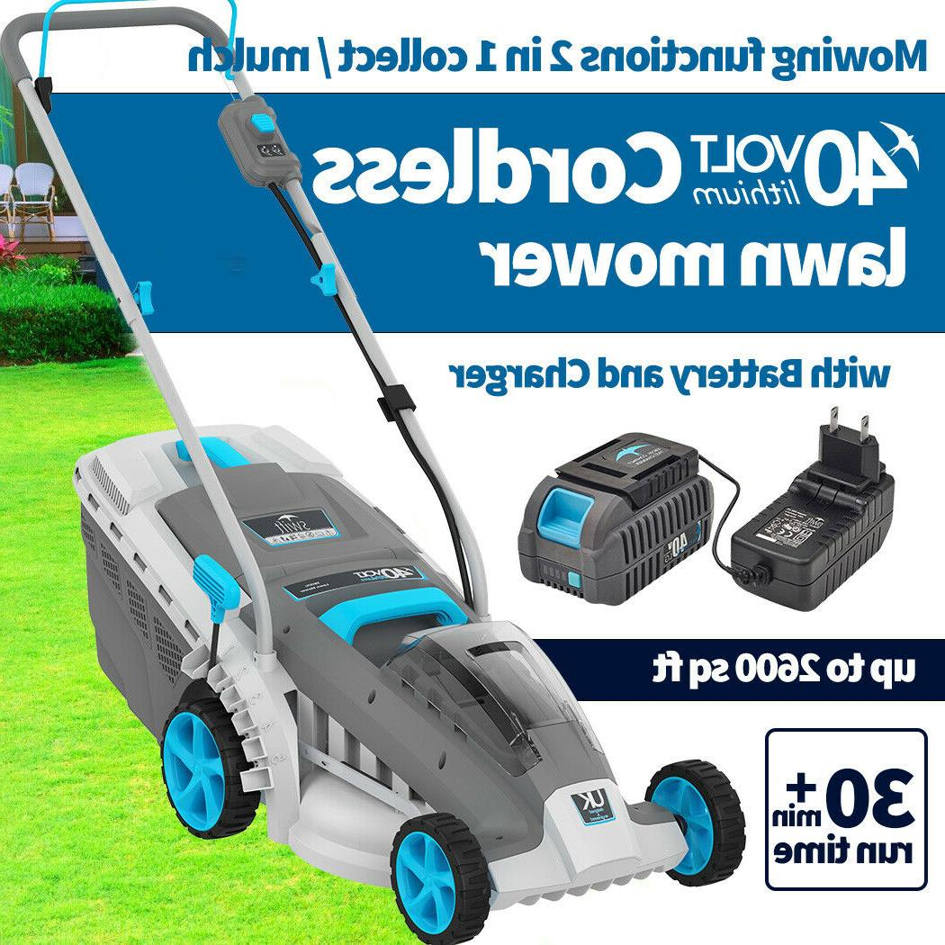 Swift Cordless Lawn battery and