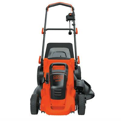 Black 13 Amp Corded 3-in-1 Electric Lawn Mower