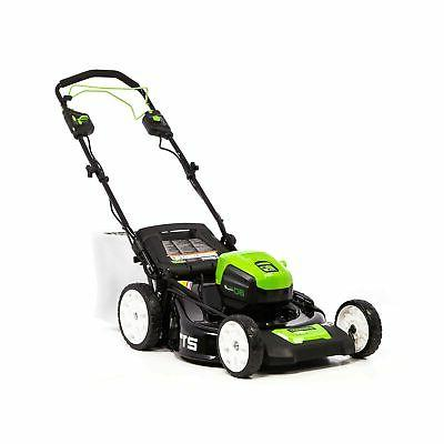 brushless self propelled cordless lawn