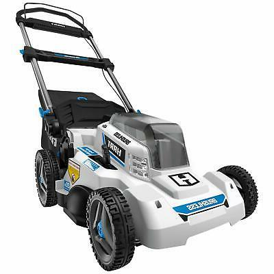 Electric Lawn Mower Cordless Brushless Push w/ Battery + Cha