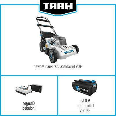 Electric Lawn Brushless w/ + Charger NEW