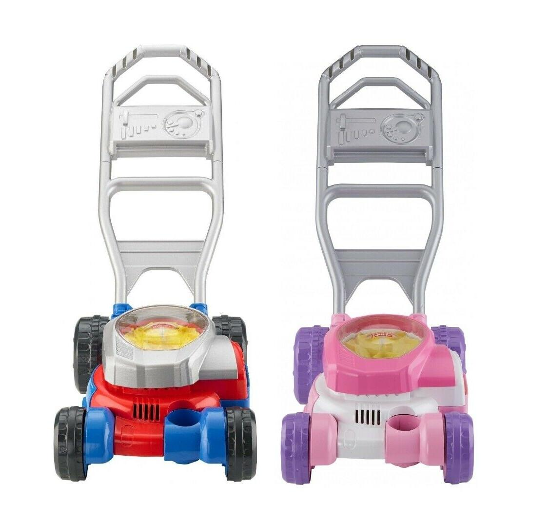 fisher price bubble mower play lawn mower