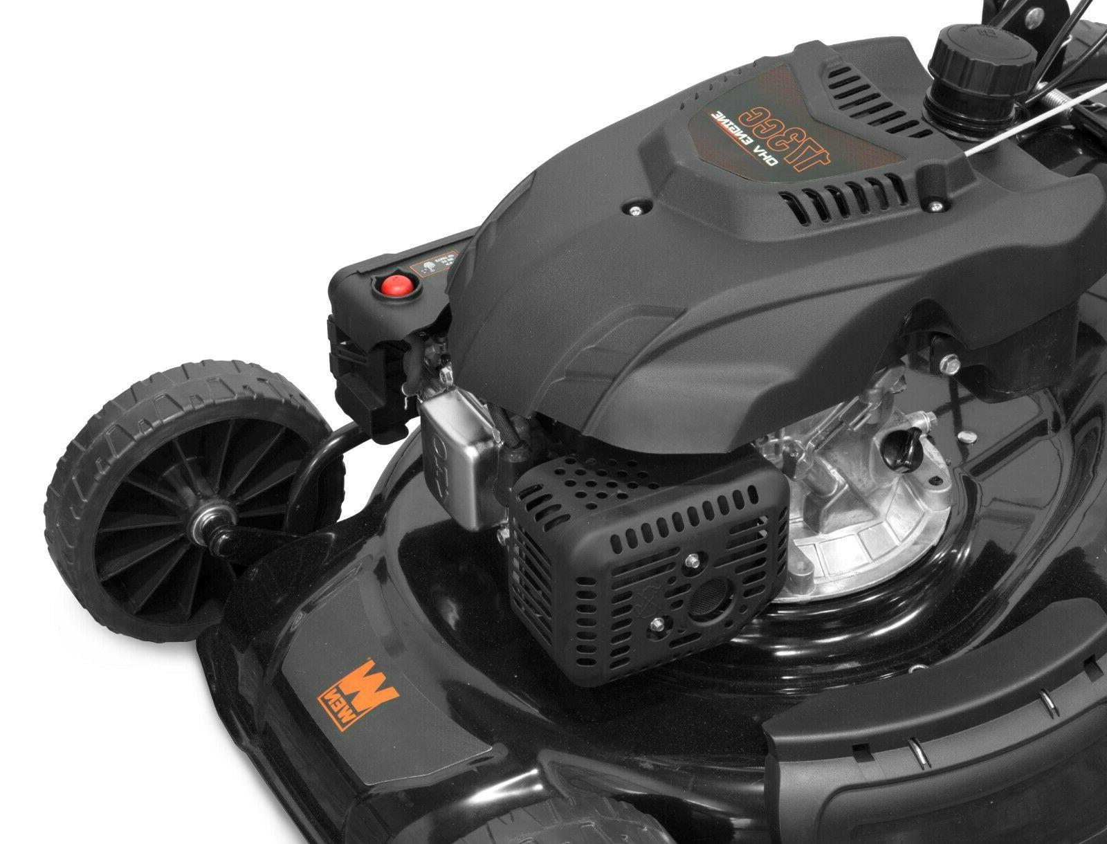 WEN 173cc Gas-Powered 4-in-1 Self-Propelled Lawn Mower