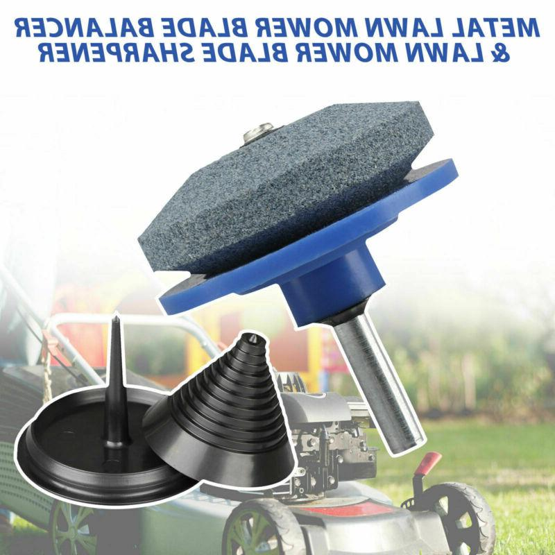 Mower Blade Balancer & Sharpener Fits Mower Useful