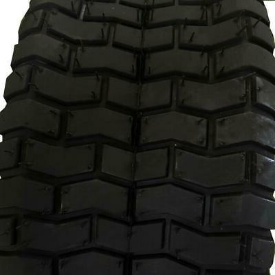 TWO 15x6.00-6 Tires 2 Ply Mower Tractor Rim 4.50