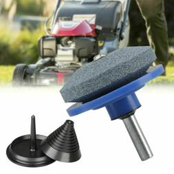 Lawn Mower Blade Balancer Sharpener Set For Lawn Mower Tract
