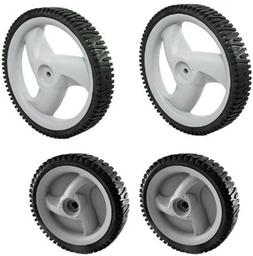 New Pack of 4 Craftsman Lawn Mower Front Drive Wheel 5837195