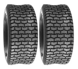 Pack of 2, Deli Tire 13 x 6.50 - 6, Turf Tires, 4 PR, Tubele