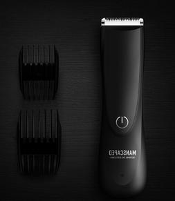 powerful Electric Manscaping Groin Hair Trimmer, Lawn Mowe