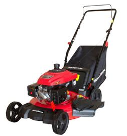 "PowerSmart PS2194PR 21"" 3-in-1 170cc Gas Push Lawn Mower Ste"