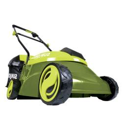 Sun Joe Push Lawn Mower Battery Operated With Charger Includ