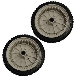 Set of 2 Front Drive Wheels 532403111 for Craftsman Self-Pro