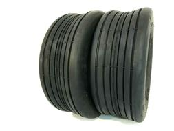 Two 15x6.00-6 Lawn Mowers Rib Tubeless Tires Tractors 4 ply