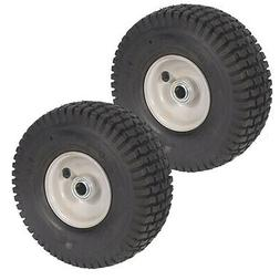 Two  Pack Front Assembly Mower Wheels Fits Snapper 7052268 7