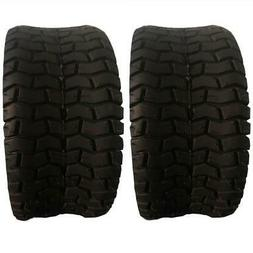 TWO TIRES 15x6.00-6 Turf Tires 2 Ply Lawn Mower Tractor Rim